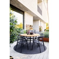 Fotel ogrodowy NOBLE 57438RODGAL 59x59x78cm firmy Cane-line