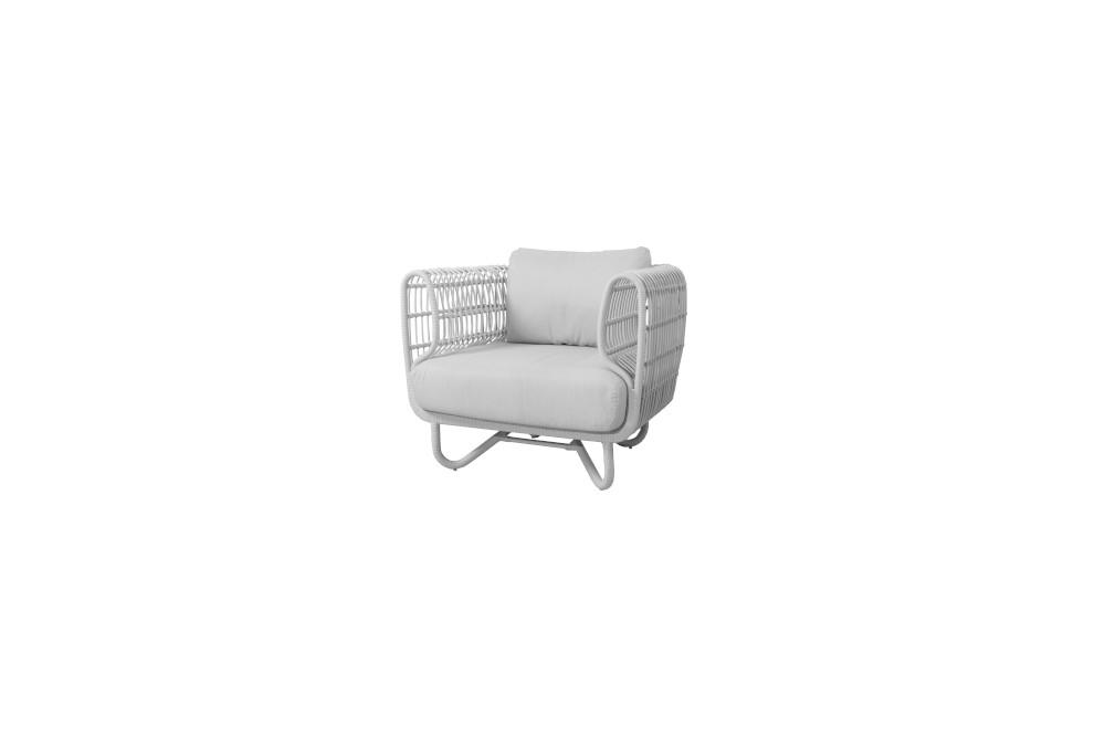 Fotel ogrodowy NEST 57421WSW 90x81x74cm firmy Cane-line