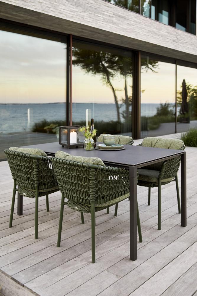 Fotel ogrodowy OCEAN 5417RODGR 57x60x76cm firmy Cane-line