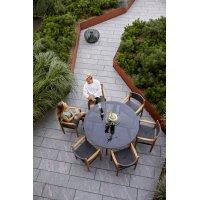 Fotel ogrodowy teakowy ROYAL 54601RODGT 58x55,5x83cm firmy Cane-line