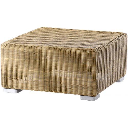 Podnóżek/stolik ogrodowy CHESTER 5390U firmy Cane-line