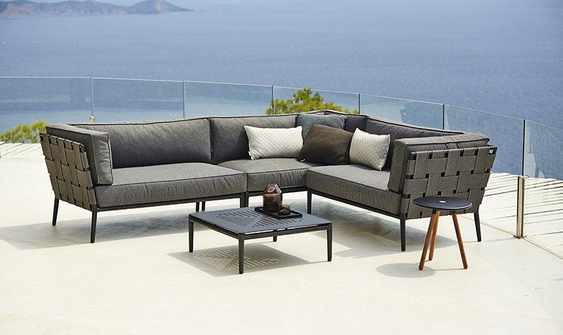 Stolik ogrodowy Conic 5038AL 75x75x28cm firmy Cane-line