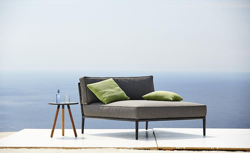 Łóżko ogrodowe CONIC 8538SAITG 120x140x82cm firmy Cane-line