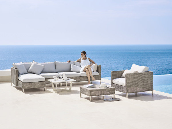 Sofa ogrodowa CONNECT moduł środkowy 5498T firmy Cane-line