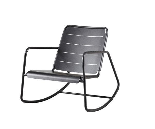 Fotel ogrodowy bujany COPENHAGEN 11428AL firmy Cane-line