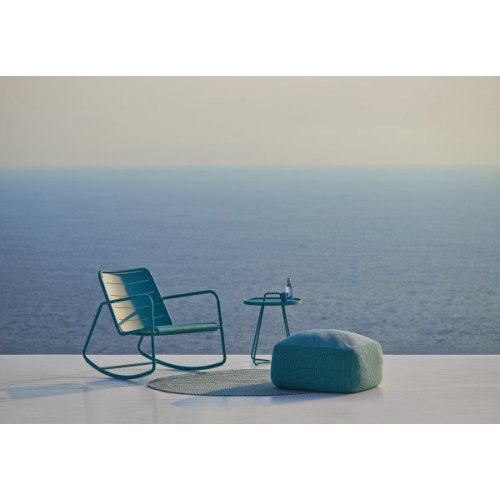 Fotel ogrodowy bujany COPENHAGEN 11428 AA firmy Cane-line