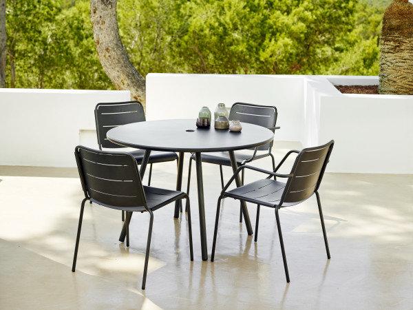 Fotel ogrodowy COPENHAGEN 11441AL firmy Cane-line