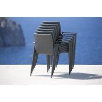 Fotel ogrodowy CORE 8435SFTG firmy Cane-line