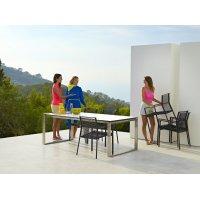 Stół ogrodowy rozkładany 210-330x100cm EDGE 5032STPO32CB firmy Cane-line