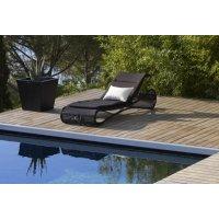 Leżak ogrodowy ESCAPE 5523LS firmy Cane-line