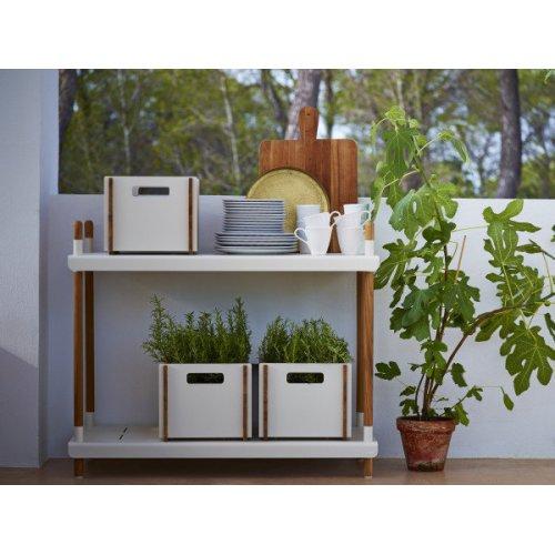 Regał ogrodowy FRAME 5790TAW firmy Cane-line