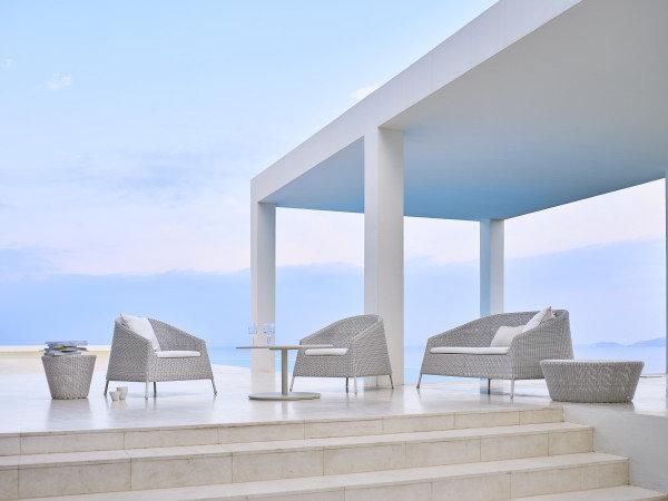 Fotel ogrodowy KINGSTON 5450LW firmy Cane-line