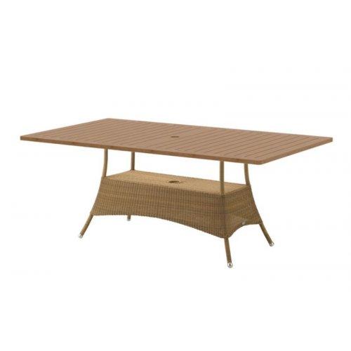 Stół ogrodowy LANSING 5056LUP180X100T 180x100x72,5cm firmy Cane-line