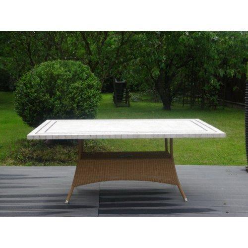 Stół ogrodowy LANSING 5056LUPO98TR firmy Cane-line