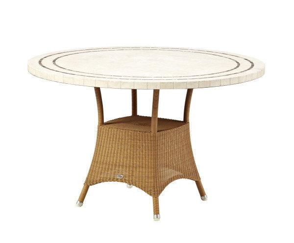 Stół ogrodowy LANSING 5098LUP120T Ø120x72,5cm firmy Cane-line