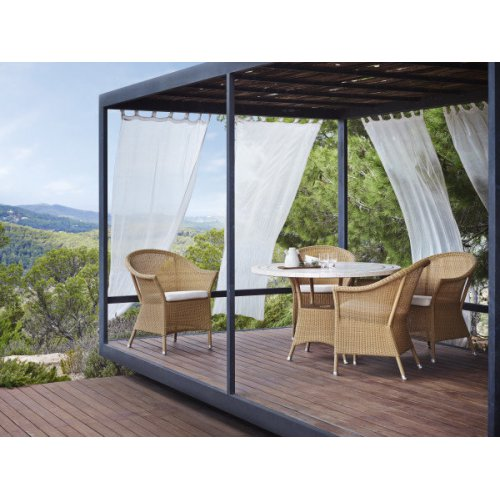Fotel ogrodowy LANSING 5456LU firmy Cane-line