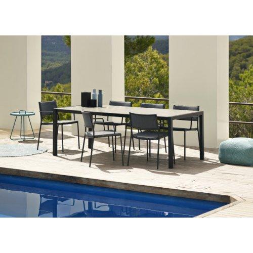 Fotel ogrodowy LESS 11430ALSG firmy Cane-line