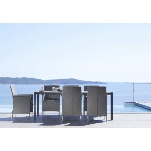 Fotel ogrodowy LIBERTY 8410TXG firmy Cane-line