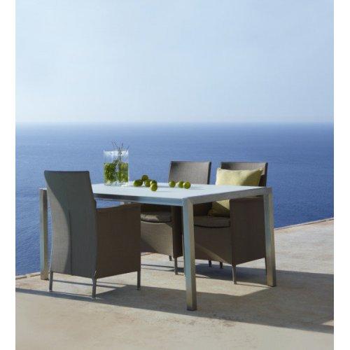 Fotel ogrodowy LIBERTY 8410TXB firmy Cane-line