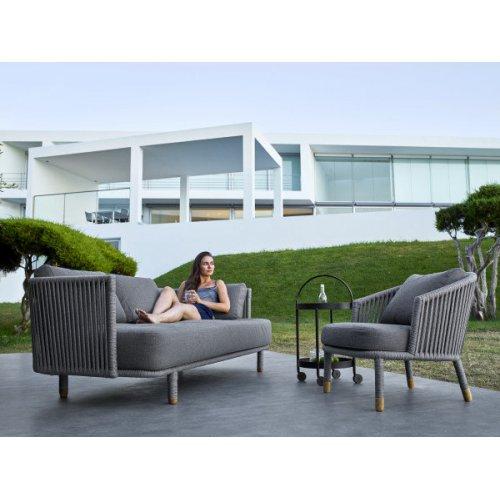 Fotel ogrodowy MOMENTS 7443ROG firmy Cane-line