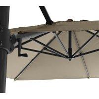 Parasol ogrodowy HYDE LUXE 58A3X3Y504 3x3x2,7m firmy Cane-line