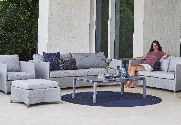 Stolik ogrodowy PURE low 5087AI 130x70cm firmy Cane-line