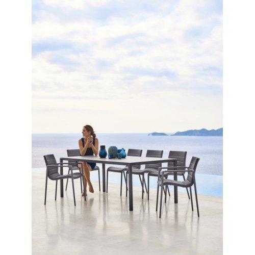 Stół ogrodowy PURE 5085AI 200x100cm firmy Cane-line