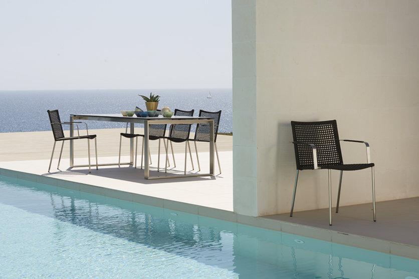 Fotel ogrodowy STRAW 5408RSTG firmy Cane-line