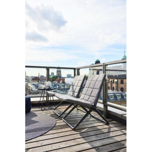 Składane krzesło ogrodowe TRAVELLER 8432SFTG firmy Cane-line