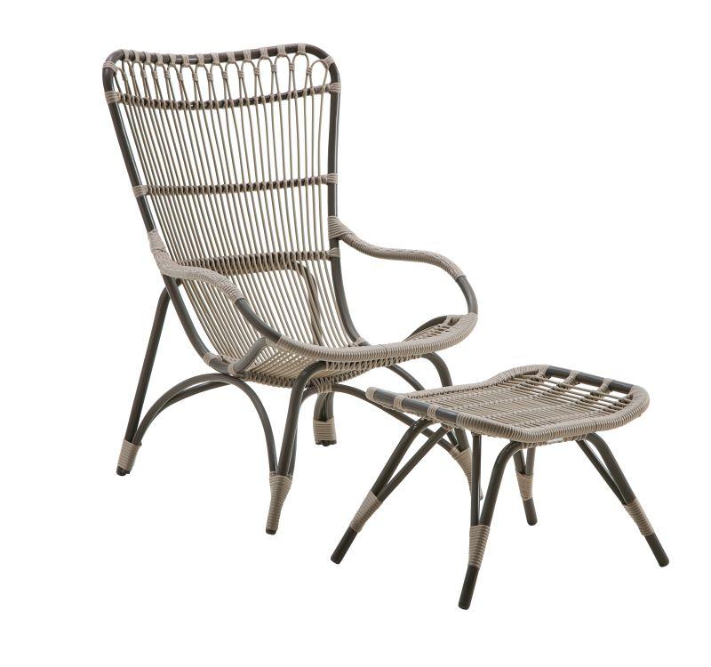 Fotel ogrodowy lounge MONET SD-E182-MC 67x81x98cm firmy Sika-Design
