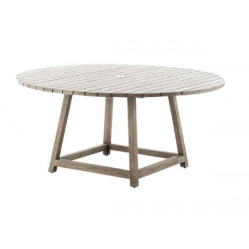 Stół ogrodowy teakowy GEORGE 9446 Ø160x73cm firmy Sika-Design