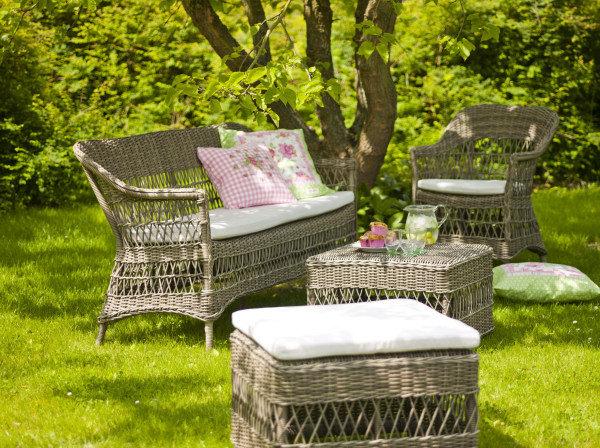 Sofa ogrodowa 3-osobowa CHARLOT 9293T firmy Sika-Design