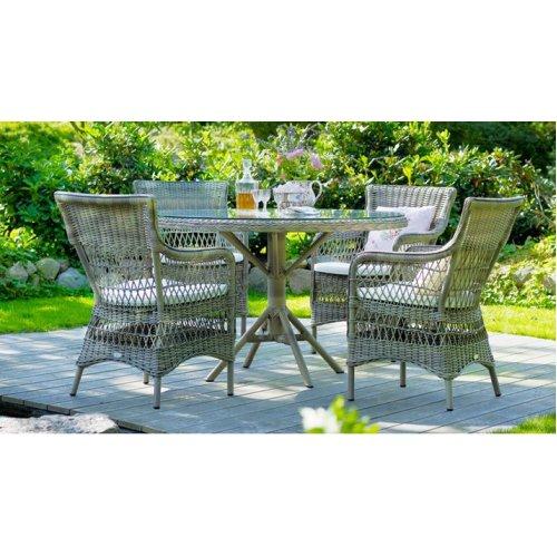 Stół ogrodowy GRACE 9493 Ø120cm firmy Sika-Design