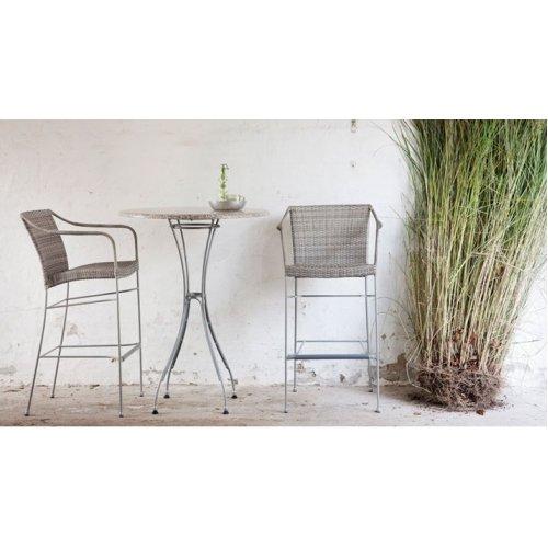 Fotel ogrodowy barowy PLUTO 9165T firmy Sika-Design