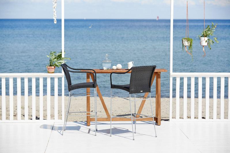 Fotel ogrodowy barowy PLUTO 9165S firmy Sika-Design