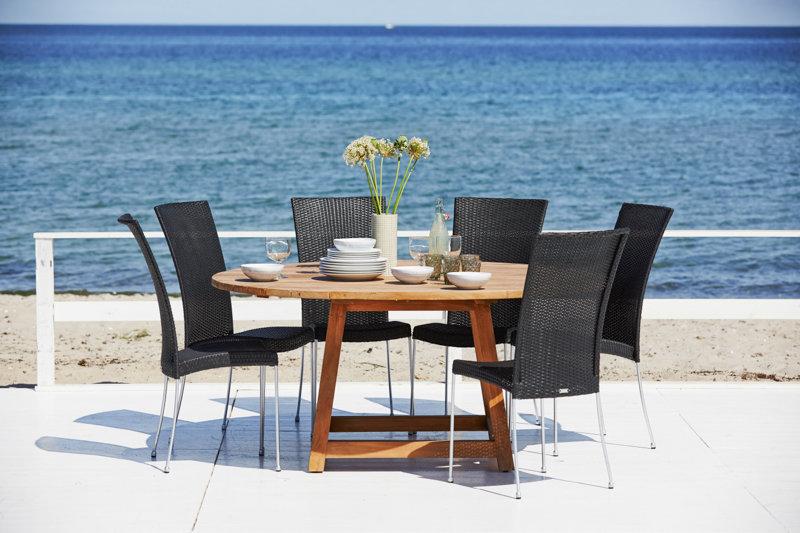 Krzesło ogrodowe SATURN 9100S firmy Sika-Design