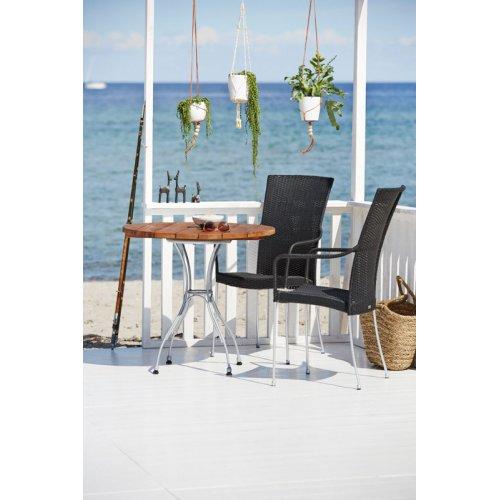 Stół ogrodowy ATLAS 9404PC Ø80cm firmy Sika-Design