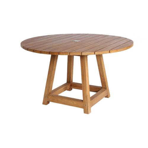 Stół ogrodowy teakowy GEORGE 9442 Ø120x73cm firmy Sika-Design