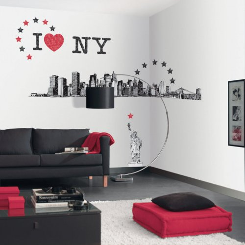 Tapeta - bordiura Life BIG APPLE LIF62567000