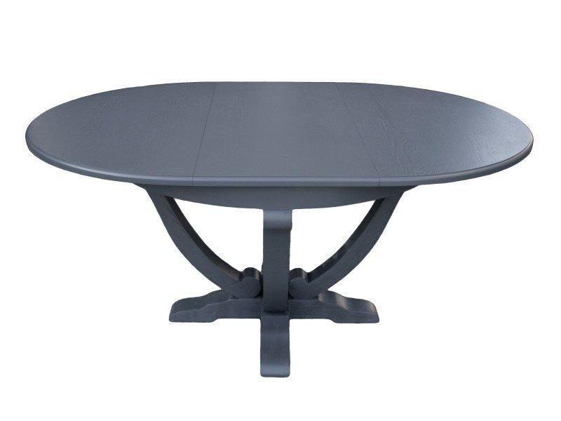 Stół LARISA Graphite 120-170x120x78cm