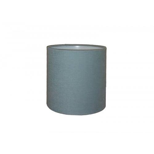 Abażur CYLINDER Blue/Grey 00817CC120LD0 Ø20x20cm