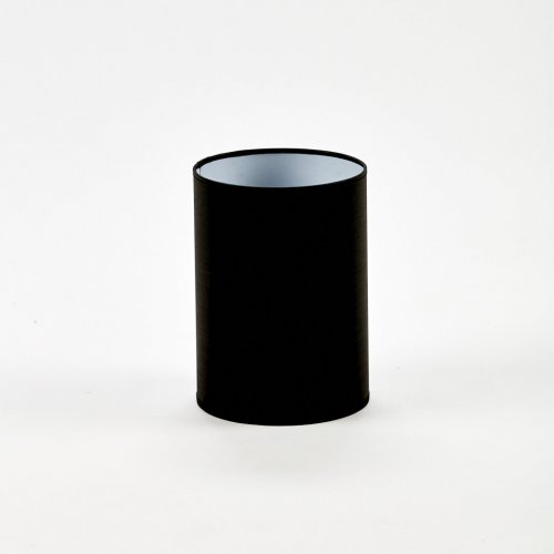 ABAŻUR 18CM CD18897 BLACK CYLINDER HIGH