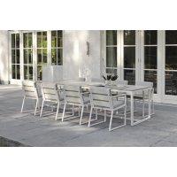 Fotel ogrodowy SAMOS Lounge 7203 White 72x67x35,5cm firmy Borek