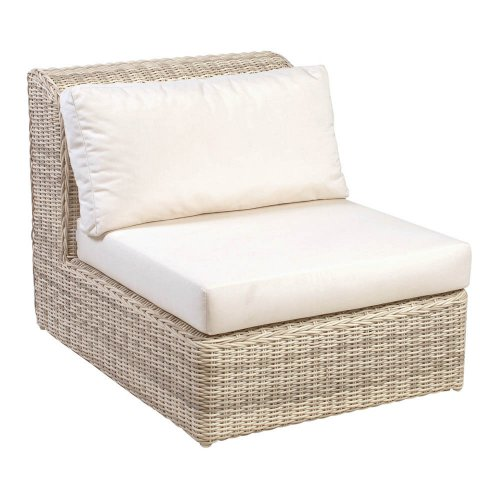Sofa ogrodowa ATLANTA moduł środkowy 4083 Carrara White 82x107x79,5cm firmy Borek