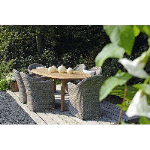 Fotel obiadowy pleciony BALI 4060 Kubu 61x67x86,5cm firmy Borek