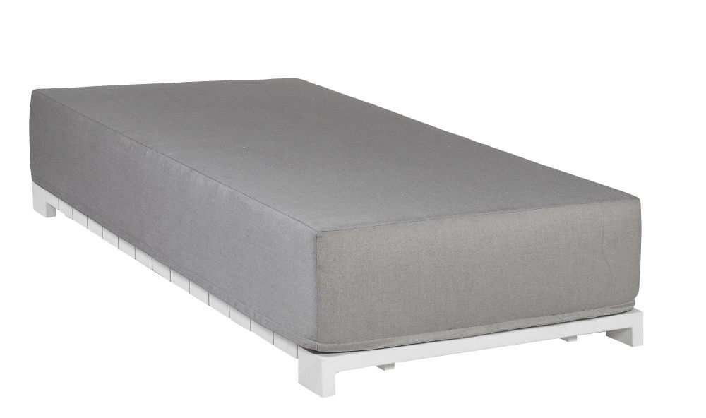 Łóżko ogrodowe SAMOS 7229 White 42x38x78cm firmy Borek