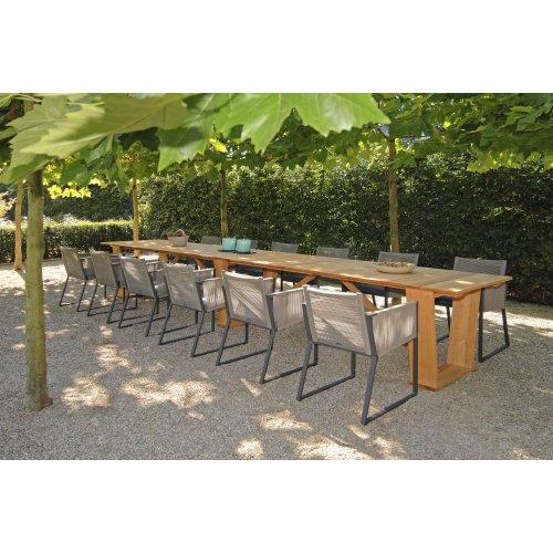 Kolekcja stołów ogrodowych ROMA Firmy Borek
