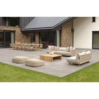 Sofa modułowa ogrodowa PORTOFINO 4332 Sand 270x85x65cm firmy Borek