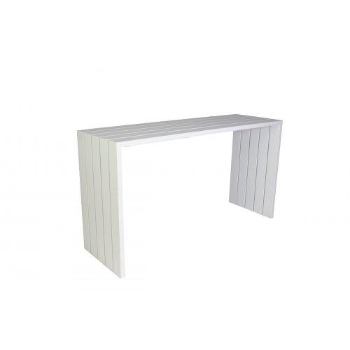 Stół barowy SAMOS 7223 White 200x64x110cm firmy Borek