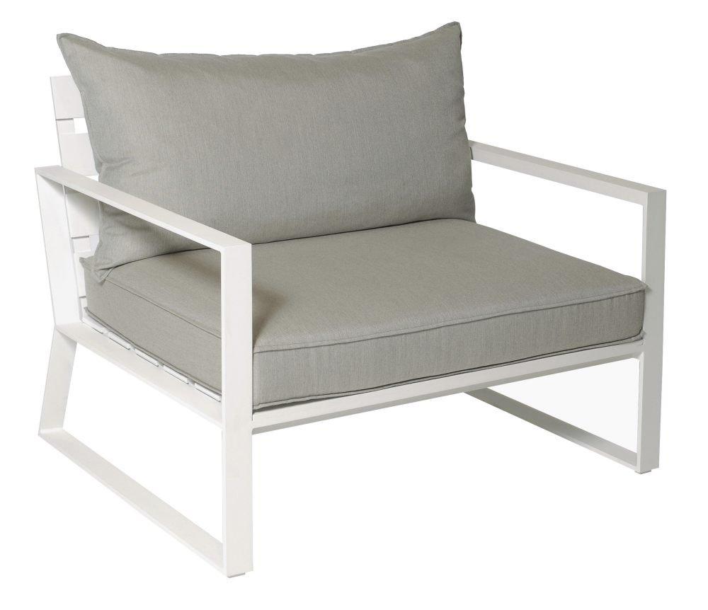 Fotel ogrodowy SAMOS Loveseat 7205 White 112x91x86,5cm firmy Borek